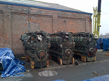 3 of 4 Ruston 12CSVM Engines