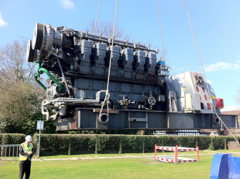 Cummins Diesel Engines >> English Electric 12SVA 1MW Generator » European Diesels