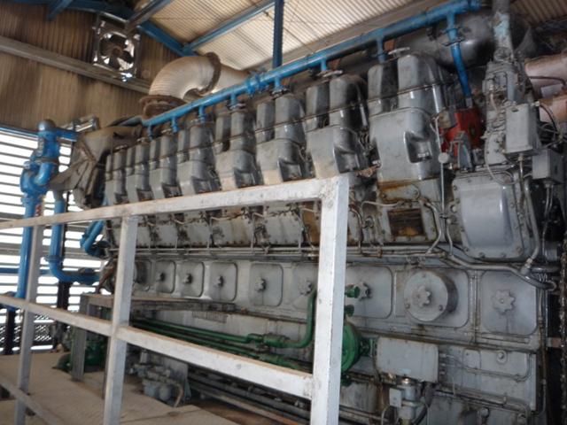 Ruston 16RK3C 2MW Generator Sets » European Diesels